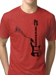 guitarist, bassist, bass guitar, Tri-blend T-Shirt
