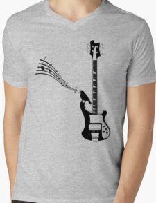 guitarist, bassist, bass guitar, Mens V-Neck T-Shirt