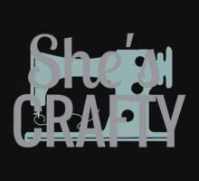 She's Crafty Beastie Boys Vintage Design One Piece - Short Sleeve
