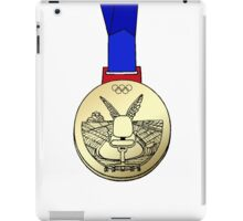 Office Chair Racing Olympic Gold Medal iPad Case/Skin