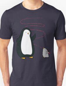 Little Penguin Likes to Draw! Unisex T-Shirt