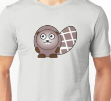 Little Cute Beaver Unisex T-Shirt