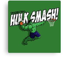 Smashketball Canvas Print