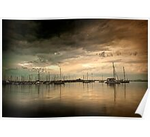 Eastern Beach - Geelong Victoria Poster