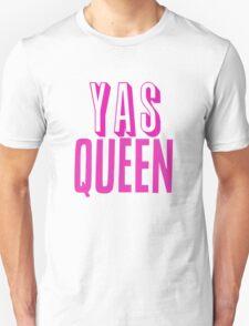 Yas Queen Hot Pink T-Shirt
