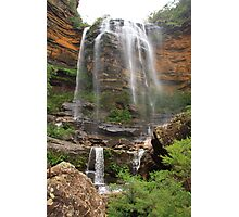 Wentworth falls, Blue Mountains Photographic Print