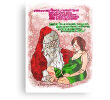 Pregnancy: Naughty and Nice Names Metal Print