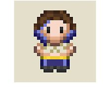 Pixel WWE Blue Pants Vaudevillians NXT by SquishyCarrot