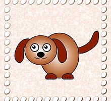 Little Cute Doggy by Anastasiya Malakhova