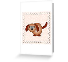 Little Cute Doggy Greeting Card