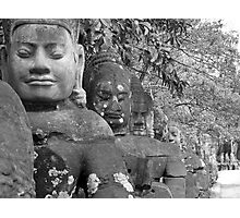 Asia Statues Photographic Print