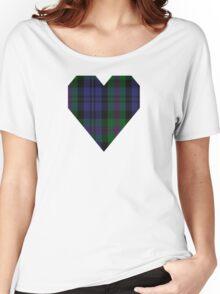 00382 Modern Baird Clan/Family Tartan  Women's Relaxed Fit T-Shirt