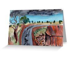 Western NSW Greeting Card