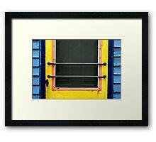 simply a door Framed Print