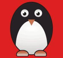 Little Cute Penguin One Piece - Short Sleeve