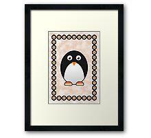 Little Cute Penguin Framed Print