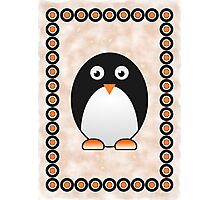 Little Cute Penguin Photographic Print