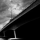 Biancas Wait - Narrows Bridge, Perth. by BaliBuddha