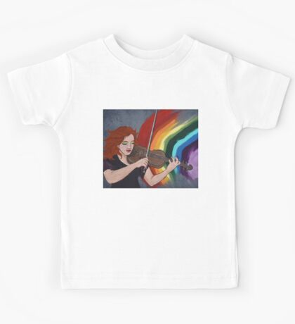 PLAY -2ND IN 'SHOW YOUR COLOURS' SERIES Kids Tee