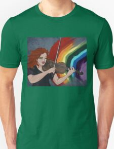 PLAY -2ND IN 'SHOW YOUR COLOURS' SERIES Unisex T-Shirt