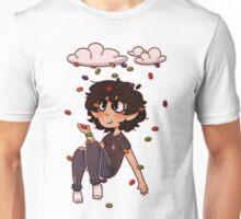 Dan in Skittle Rain Unisex T-Shirt
