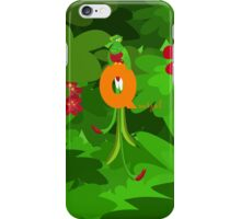 q for quetzal iPhone Case/Skin
