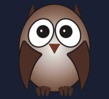 Little Cute Owl Baby Tee
