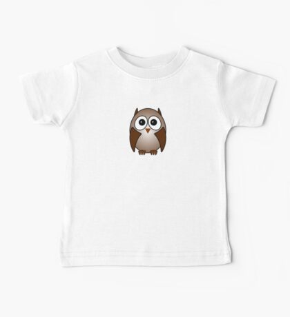 Little Cute Owl Baby Tee