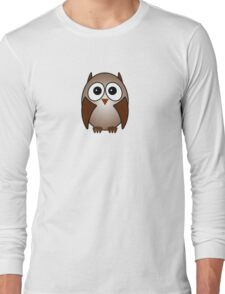Little Cute Owl Long Sleeve T-Shirt