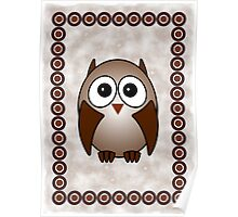 Little Cute Owl Poster