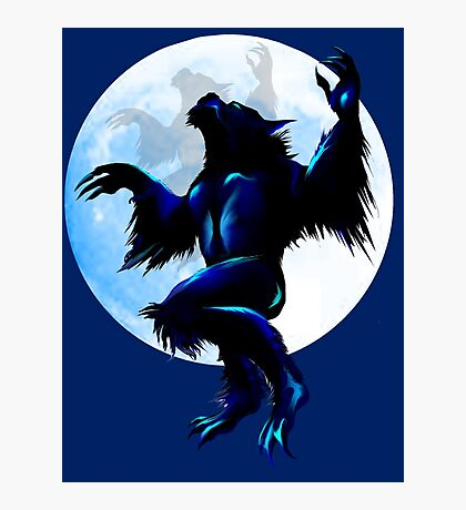 Werewolf On The Loose Photographic Print