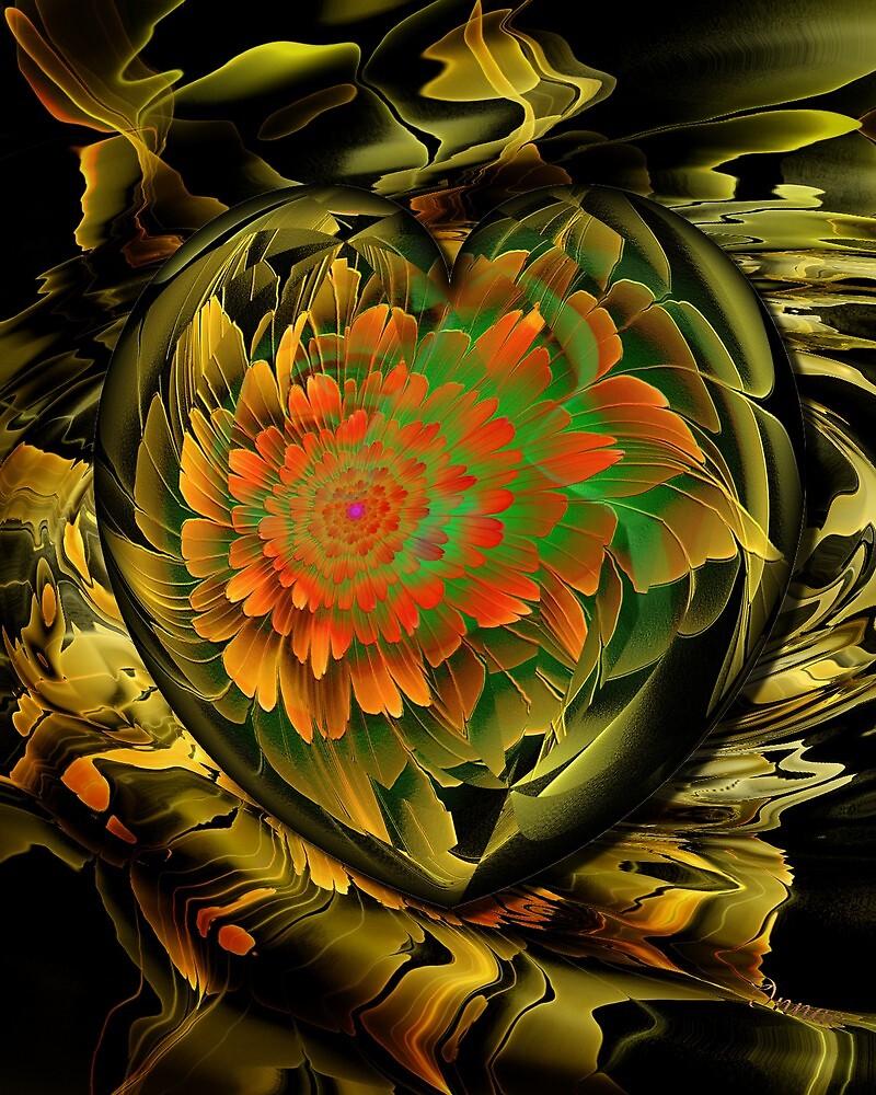 Flower in my heart by innacas