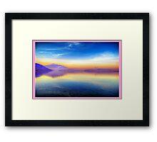 Sunrise for Stephanie (Pink) Framed Print