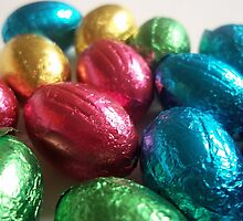 Chocolate Easter Eggs by rualexa