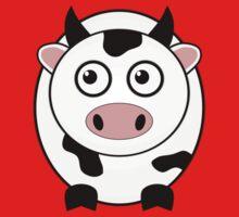 Little Cute Cow Baby Tee