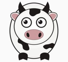 Little Cute Cow One Piece - Short Sleeve
