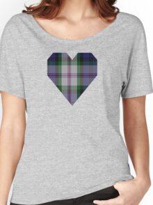 00383 Baird Dress Clan/Family Tartan  Women's Relaxed Fit T-Shirt