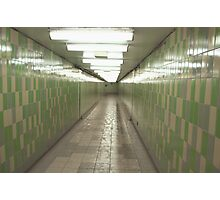 St Patrick Subway Station Photographic Print