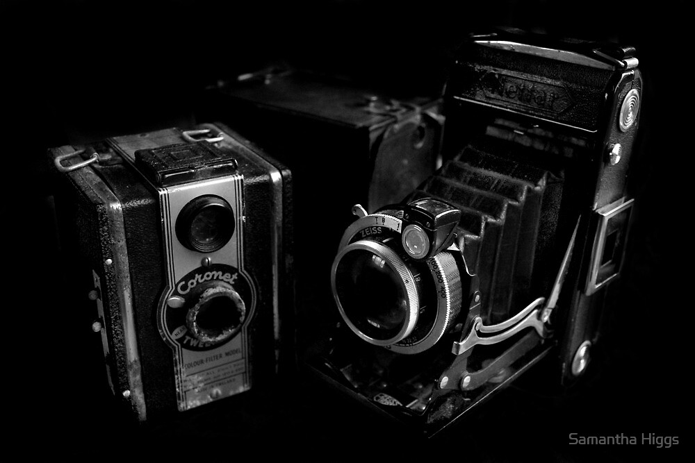 Old Cameras by Samantha Higgs