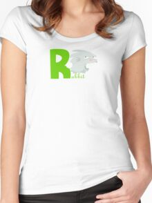 r for rabbit Women's Fitted Scoop T-Shirt