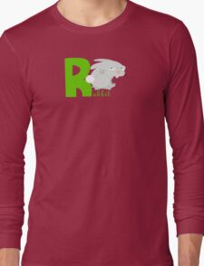 r for rabbit Long Sleeve T-Shirt