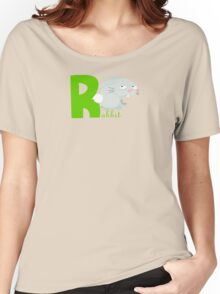 r for rabbit Women's Relaxed Fit T-Shirt