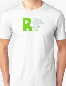 r for rabbit Unisex T-Shirt