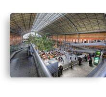 Puerta de Atocha Railway Station Hall #1 Canvas Print