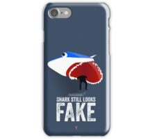 Cinema Obscura Series - Back to the future - Jaws Shark iPhone Case/Skin