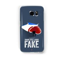 Cinema Obscura Series - Back to the future - Jaws Shark Samsung Galaxy Case/Skin