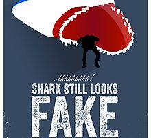 Cinema Obscura Series - Back to the future - Jaws Shark by Geoff Bloom