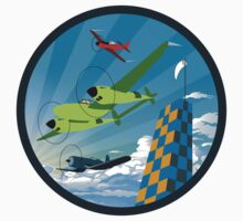 Retro Air Race by warbirdwear