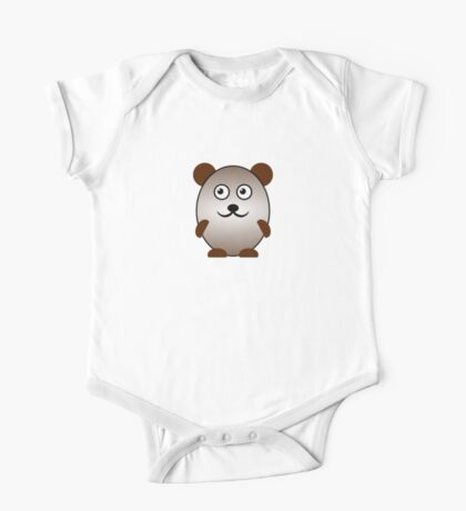 Little Cute Bear One Piece - Short Sleeve