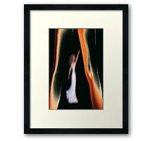 walk tall Framed Print